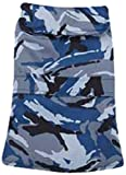 Casual Canine ZM3937 30 19 Camo Barn Coat for Dogs, XX-Large, Blue