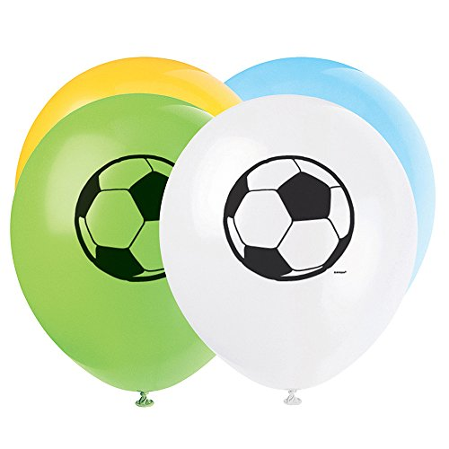 Latex Soccer Party Balloons 8ct