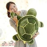 DishyKooker Huge Size 40cm/50cm/60cm Plush Tortoise Toy Cute Turtle Plush Pillow Stuffed Turtle Pillow Cushion for Girls Gift Kids Toys