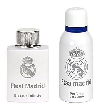 Real Madrid Gift Set (Eau De Toilette 100 ml + Deodorant 150 ml ... 182743737f260