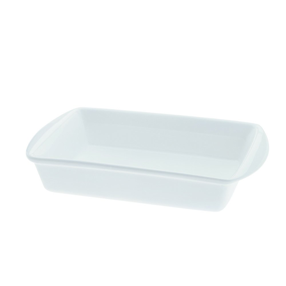 Maxwell and Williams Basics Lasagna Dish, 17 by 10-Inch, White