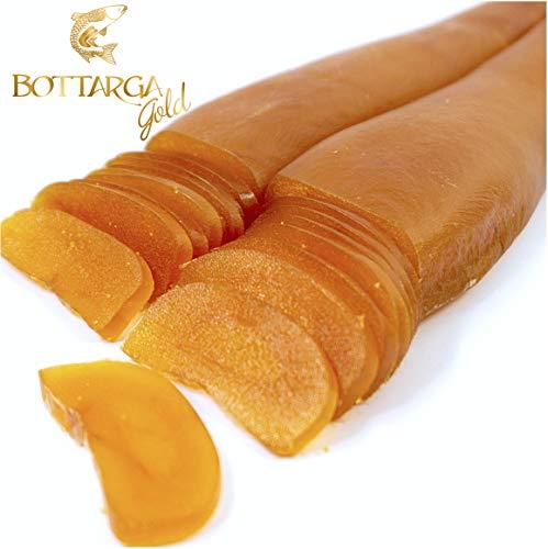 Bottarga Gold - Wild Caught Dried Mullet Roe 3.5 oz Kosher