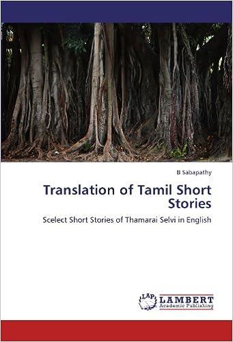 Translation of Tamil Short Stories: Scelect Short Stories of