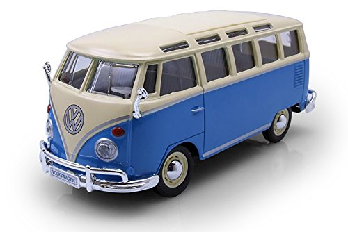Apple 505 (NEW 1:24 W/B MAISTO SPECIAL EDITION COLLECTION - BLUE VOLKSWAGEN VAN