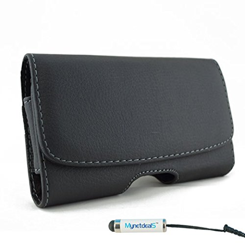 MyNetDeals MyN-8875 Horizontal Leather Case Pouch Holster fo