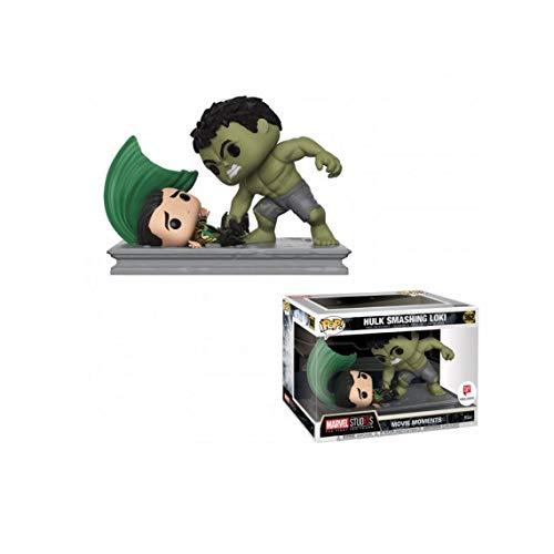 Funko Pop! Movie Moments Marvel Studios: Hulk Smashing Loki #362