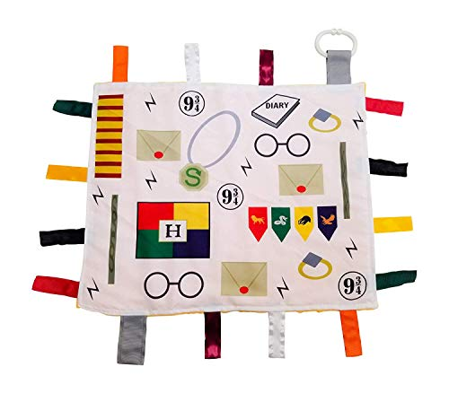 Nerd Themed Party Outfit (Educational Learning Lovey Ribbon Tag Security Blankets)