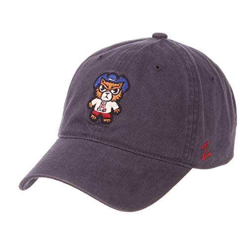 (Zephyr NCAA Arizona Wildcats -Adult Shibuya Relaxed Cap, Adjustable,)