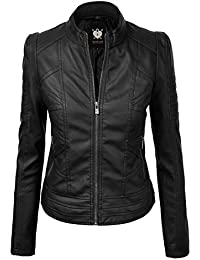 Amazon.com: XXL - Leather & Faux Leather / Coats, Jackets & Vests ...