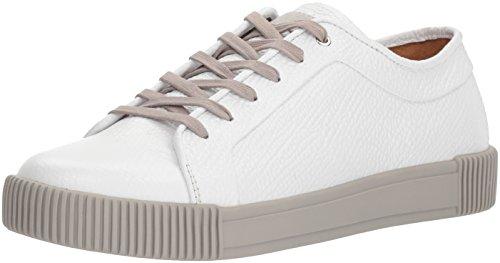 Michael Bastian Men's Lyons Low Sneaker, White Leather, 11 M US from Michael Bastian