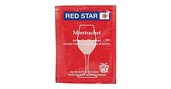 Amazon.com: Levadura de vino – montrachet seco (5 g) (Pack ...