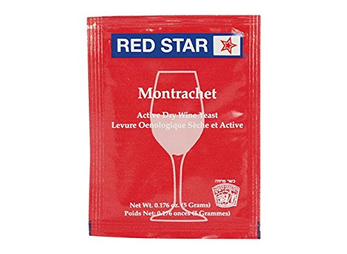 Dry Wine Yeast - Montrachet (5 g) (Pack of 10)