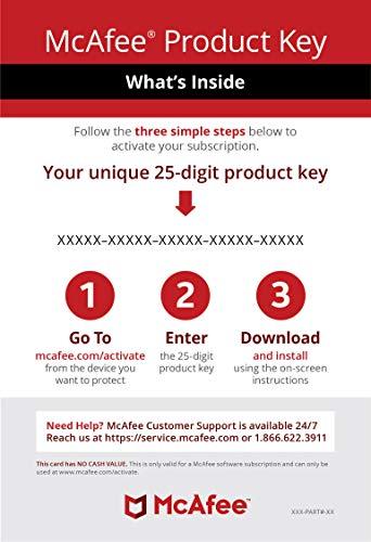 Amazon Com Mcafee Antivirus Protection Internet Security 1 Pc 1