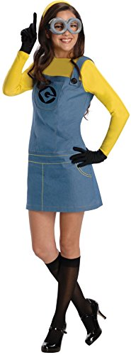 Rubie's Women's Despicable Me 2 Minion Costume with Accessories, Multicolor, Small