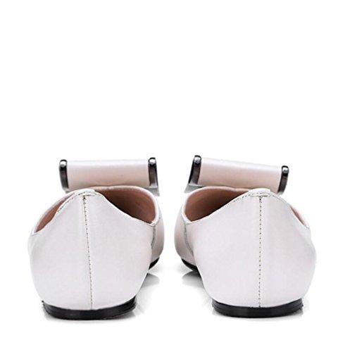 Infrieur Tendon Zfnyy Plat Femmes Faible Fond Loisir Chaussures Accent Paresseuses Bouche De UqUwv7Ffx