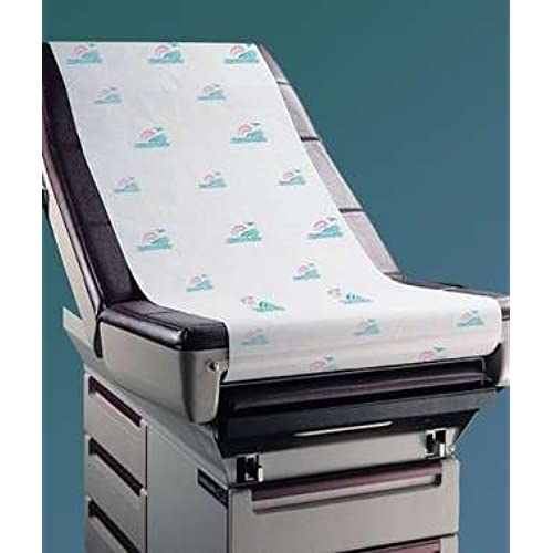 "Wholesale Graham Medical 067 Seascape Quality Printed Massage Table Paper, Crepe, 21"" Width, 125' Length (Pack of 12) for cheap"