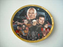 Star Trek The Next Generation Best of Both Worlds the Episodes Collector Plate