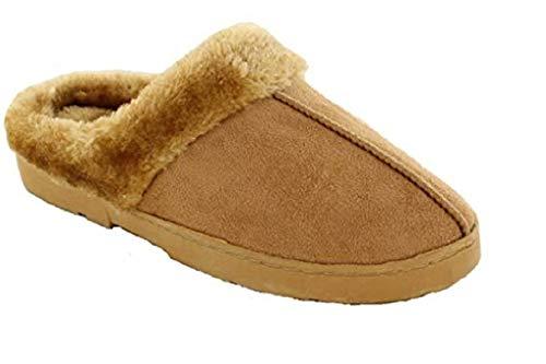 Fur Gladrags Gladrags Pantofole Donna Tan Pantofole qq8CxX