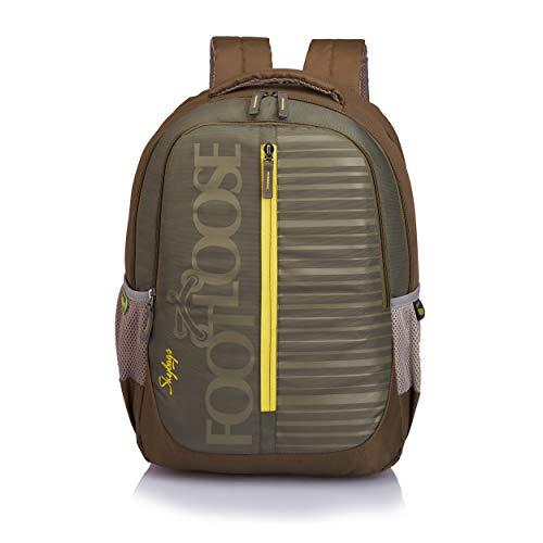 Skybags Vogh 33 Ltrs Olive Laptop Backpack (VOGH)