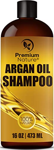 Argan Oil Shampoo Sulfate Free - Natural...