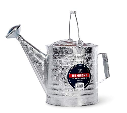 Behrens 210 2-1/2-Gallon Steel Watering Can, Silver ()