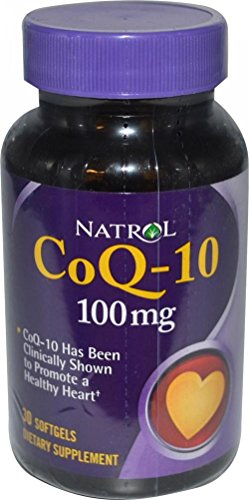 NATROL COQ10 100MG, 30 SG by NATROL