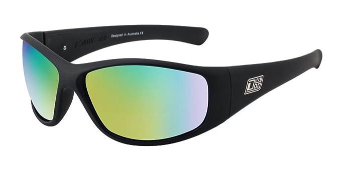 aa62ae524e6 Dirty Dog Ridge Polarised Sunglasses Satin Black 53451  Amazon.co.uk   Clothing