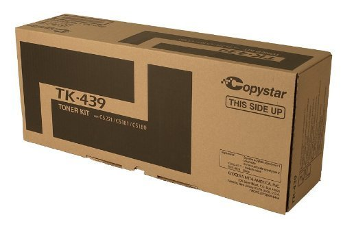 Copystar OEM 1T02KH0CS0 TONER CARTRIDGE (BLACK) (1T02KH0CS0, TK439) - by Copystar