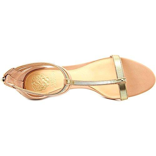 Camuto Di Banco Tacco Pompe Vince Oro Donne Alla Caviglia Makoto Classico Cinturino Sabbia vxxF4aEqwn