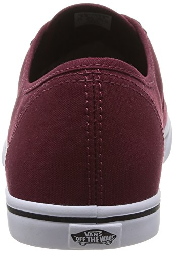 Rouge TRUE Rojo de LO Vans Tawny True AUTHENTIC lona Zapatillas PORT TAWNY U Port PRO unisex 7qxYwHC