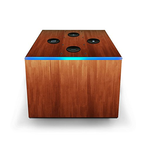 - Skin Decal Vinyl Wrap for Amazon Fire TV Cube & Remote Alexa Skins Stickers Cover/Smooth Maple Walnut Wood