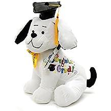 Graduation Autograph Stuffed Dog - Congrats Grad! - 10.5