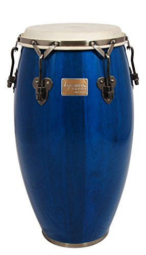 Tycoon Percussion 12 1/2 Inch Signature Classic Series Blue Tumba With Single Stand by Tycoon Percussion