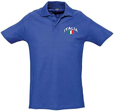 Supportershop Polo Rugby Enfant Italie Bleu Royal, Niño, Azul, FR ...
