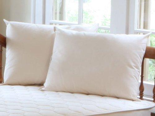 Naturepedic Junior Organic Cotton Kapok Pillow 14 x 20 by Naturepedic Organic Mattresses