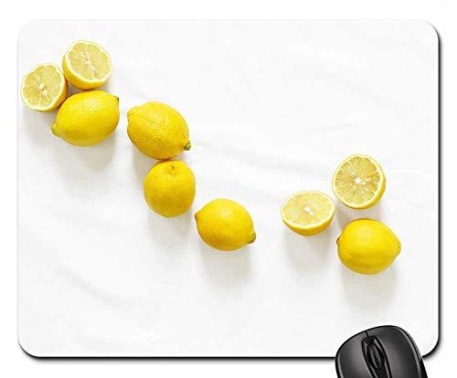 Mouse Pad - Lemons Citrus Group Fresh Fruit Yellow Healthy