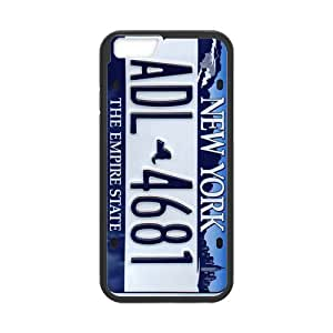 iphone 4 4s Case Personalized iphone 4 4s Custom New York License Plate iphone 4 4s (Laser Technology)