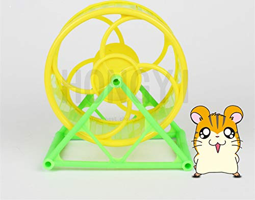 Best Quality - Fish & Aquatic Supplies Parts - 1 Piece Hamster Exercise Wheel Guinea Pig Mouse Running Sports Wheel Bracket Wheel pet Treadmill Small pet Toy - by VietFA - 1 PCs by VietFA