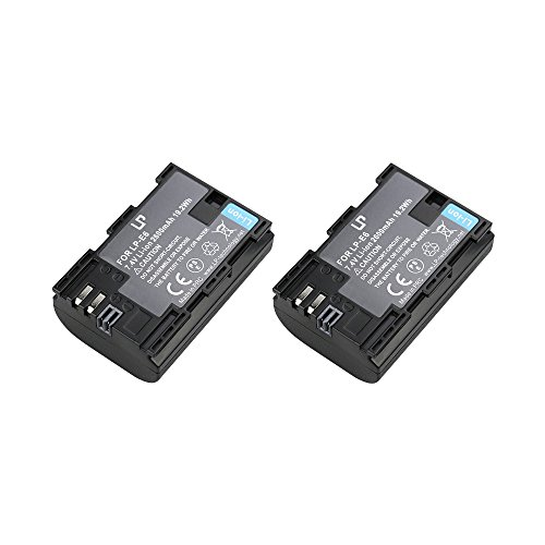 Lp e6 battery for canon 5d mark ii 5d mark iii 6d 7d for Canon 5d mark ii precio