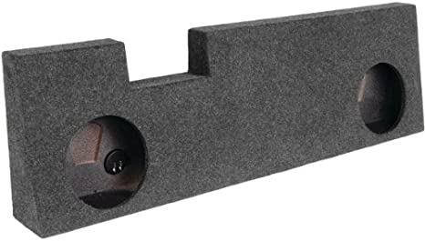 Bbox A394-10CP Dual 10 Sealed Carpeted Subwoofer Enclosure Fits 2011-2016 Ford F250//350//450 Crew Cab