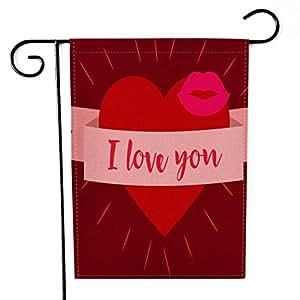 Bandera de jardín personalizable para el día de la madre, resistente a la intemperie, hermosa decoración de amor, 30,5 x 45,7 cm