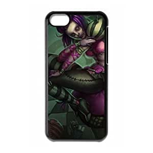 iPhone 5c Cell Phone Case Black Orianna league of legends 002 YE3378760