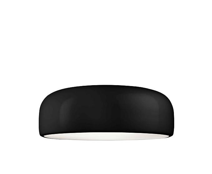 Plafoniera Flos : Flos plafoniera smithfield colore: nero: amazon.it: illuminazione
