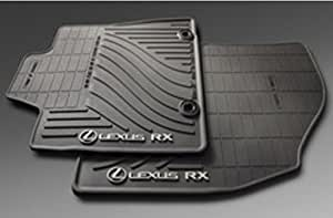Custom Car Floor Mats for Lexus RX 2007-2015 Rear Row has air Outlet Leather Custom Fit All-Weather Protection Floor Liners Waterproof Foot Pad Carpets Black