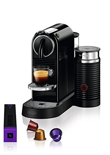 Large Product Image of Nespresso CitiZ & Milk Espresso Machine by De'Longhi, Black