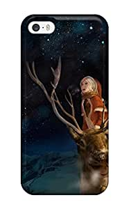 animal christmas horns landscape Anime Pop Culture Hard Plastic iPhone 5/5s cases 2176013K556594724