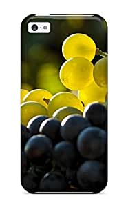 Fashionable Design Grapes Rugged Case Cover For Iphone 5c New