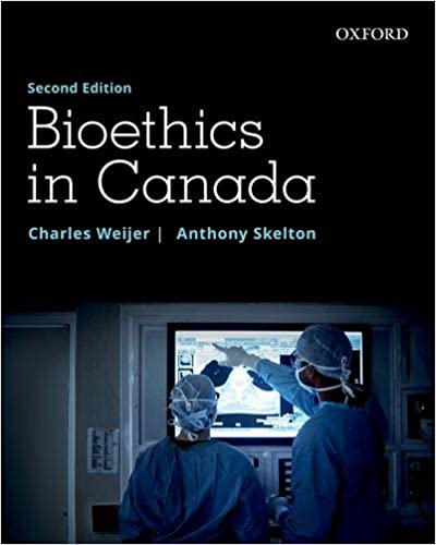 Bioethics in Canada - Original PDF