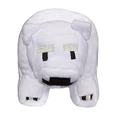 JINX Minecraft Baby Polar Bear Stuffed Figure from JINX