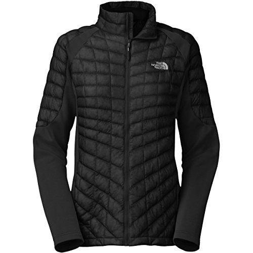 The North Face Momentum Thermoball Hybrid Womens Jacket - X-Large/TNF Black-TNF Black